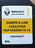 Carte SD GPS Europe 2019-10.15 - Renault R-Link