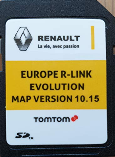 SD Karte GPS Europe 2019-10.15 - Renault R-Link