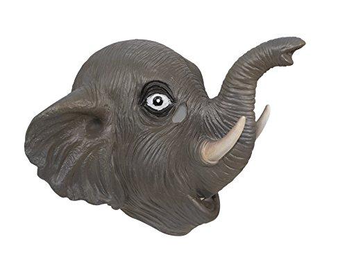 P 'tit payaso 41025máscara adulto látex completo elefante, talla única