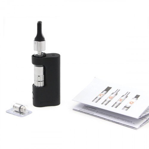 Justfog Compact Kit C14 Atomizzatore C14 e Box da 900 mah Colore Black Nero Prodotto Senza Nicotina