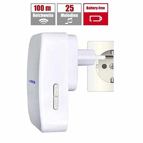 X4-LIFE Funktürklingel ECO Umweltfreundliche Funk Türklingel ohne Batterien