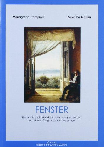Preisvergleich Produktbild Fenster, eine Anthologie zur Deutschprachingen Literatur
