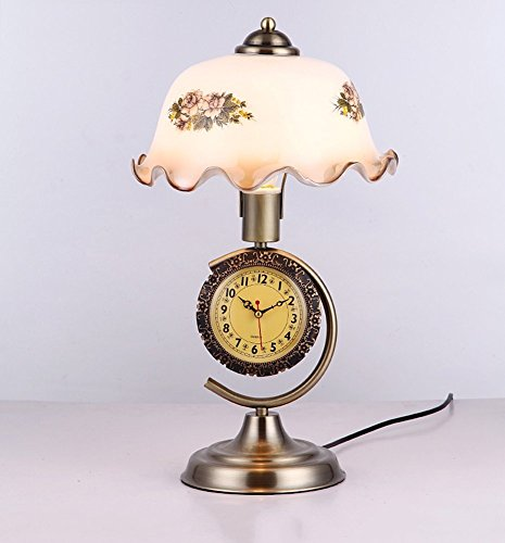 Salon Dimmable Lampe Un Old Avec Retro Américain Chevet Watch Code Facaig Shanghai Chinese Commutateur Table Chambre E271 De Style n0POkw