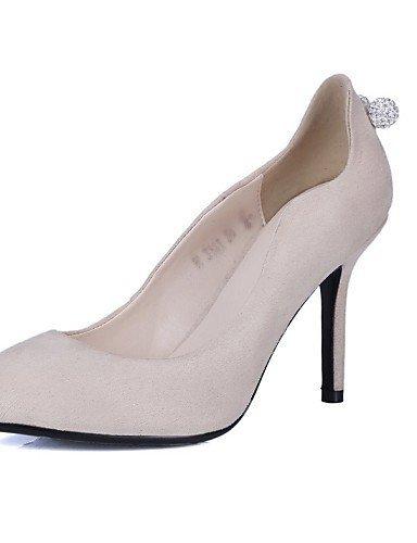 ShangYi Chaussures Femme - Mariage / Habillé / Soirée & Evénement - Noir / Rose / Rouge / Gris / Beige - Talon Aiguille - Talons / Bout Pointu - gray