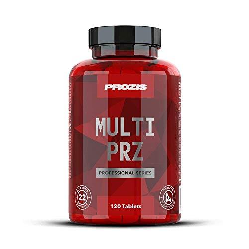 Prozis Multi PRZ Professional 120 tabs - Multivitamin, kombiniert 22 Vitamine zur Unterstützung der allgemeinen Gesundheit - Gesundheit Multivitamin