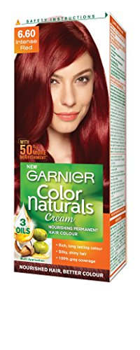 Garnier Color Naturals Shade 6.60 Intense Red, 70ml + 40g