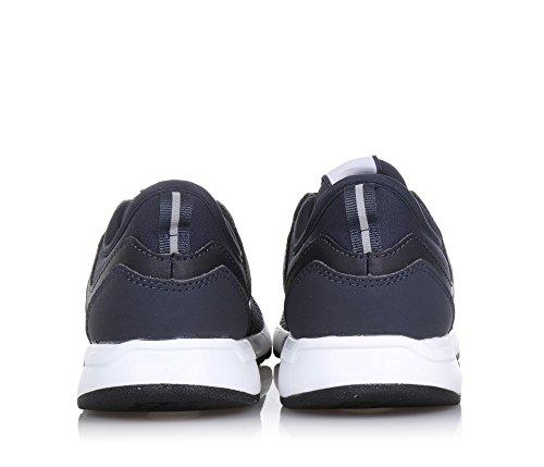 NEW BALANCE - Scarpa ginnica 274 preschool stringata blu scuro, in tessuto sintetico e microfibra,, Bambino, Ragazzo Blu