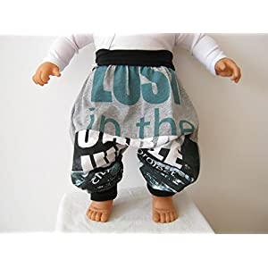 baby kind mitwachshose upcycling / recycling ab gr. 74 - 92