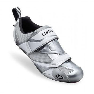 Giro Mele Triathlon Schuh Herren Chrome/White