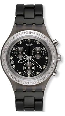 Swatch Reloj de cuarzo Unisex Full-Blooded Stoneheart Silver 43 mm de Swatch