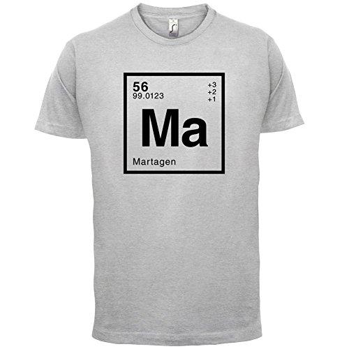 Marta Periodensystem - Herren T-Shirt - 13 Farben Hellgrau
