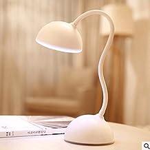 Kesierte niños creativos de la lámpara pequeña mesa LED aprenden lámpara de lectura lámpara de cabecera del dormitorio de la lámpara del ojo llevó la lámpara Auriculares