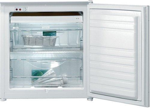 Gorenje FI4061AW Einbau-Gefrierschrank / A+ / 196 kWh/Jahr / 86 L Gefrierteil / Quick-Freeze Funktion / Schalter für Superfrost- und Normalfunktion / weiß