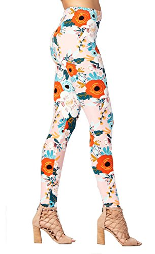 ColorOctopus Womens Printed Multicolor Leggings
