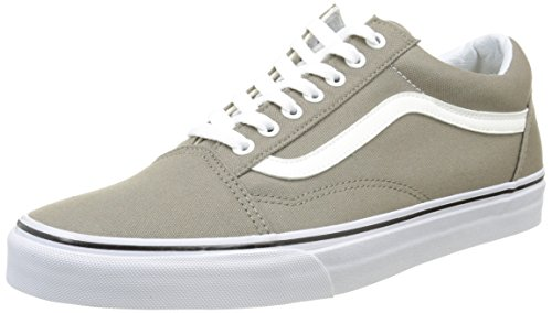 Vans Old Skool, Sneakers Basses mixte adulte Marron (Canvas/Brindle)