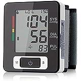 Vicloon Handgelenk Automatisches Elektronisches Blutdruckmessgerät Erkennt Blutdruck Herzfrequenz mit LCD-Bildschirm