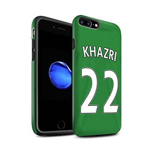 Offiziell Sunderland AFC Hülle / Matte Harten Stoßfest Case für Apple iPhone 7 Plus / Khazri Muster / SAFC Trikot Away 15/16 Kollektion Khazri