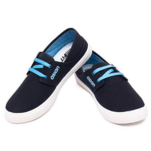 ASIAN Epic-01 Navy Blue Sports Shoes,Walking Shoes,Running Shoes,Training Shoes,Loafers,Sneakers,Gym Shoes for Men UK-9