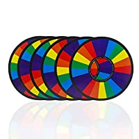 Carry-stone-Premium-Qualitt-Farbwechsel-Regenbogen-Ringe-Zaubertrick-Fr-Stage-Party-Family-Magic-Toy-Set