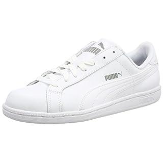 Puma Puma Smash Leather, Unisex-Erwachsene Sneaker, Weiß, 45 EU