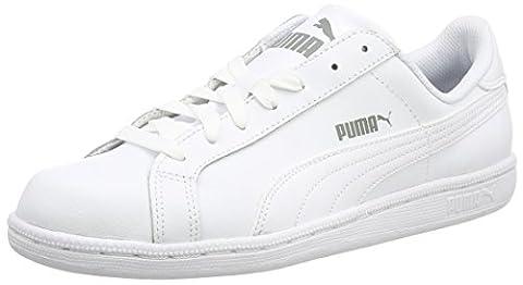 Puma Puma Smash L,Unisex-Erwachsene Sneaker, Weiß, 45