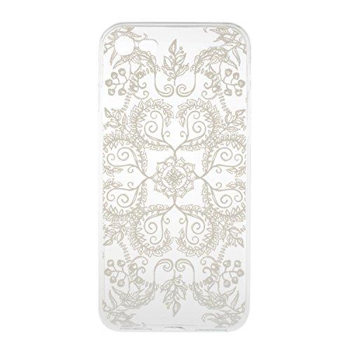 BONROY® Coque pour iPhone 7 Plus (5,5 Zoll),Housse en cuir pour iPhone 7 Plus (5,5 Zoll),imprimé étui en cuir PU Cuir Flip Magnétique Portefeuille Etui Housse de Protection Coque Étui Case Cover avec  fleurs Octopus