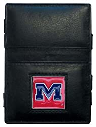 NCAA Ole Miss Rebels Leather Jacob's Ladder Wallet