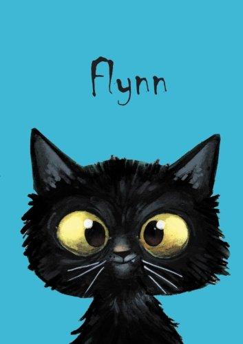 Flynn: Flynn - Katzen - Malbuch / Notizbuch / Tagebuch: A5 - blanko