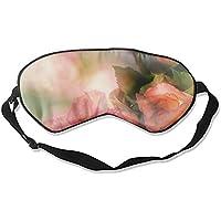 Schlafmaske, romantische Rosenseide, leicht, atmungsaktiv, bequem, weich, mit verstellbaren Kopfgurten für Frauen preisvergleich bei billige-tabletten.eu
