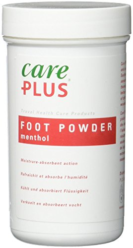 Care Plus Erwachsene Hygiene Fußpulver 40 g, Transparent, 40 g, 703101
