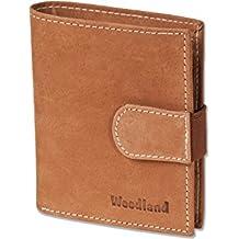6ba8ea4e9 Woodland - billetera Super-compacto con XXL tarjeteros para 18 tarjetas  hechas de aficionados no