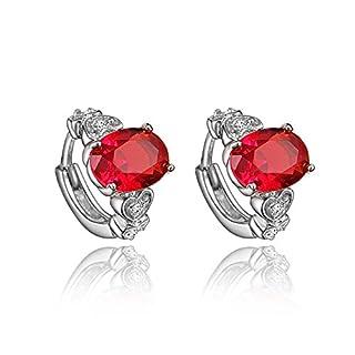amberma Fancy Elegant 18K Ohrringe Design Ohrstecker, Damen Schmuck, Geschenke für Frauen Mädchen FRIENDS
