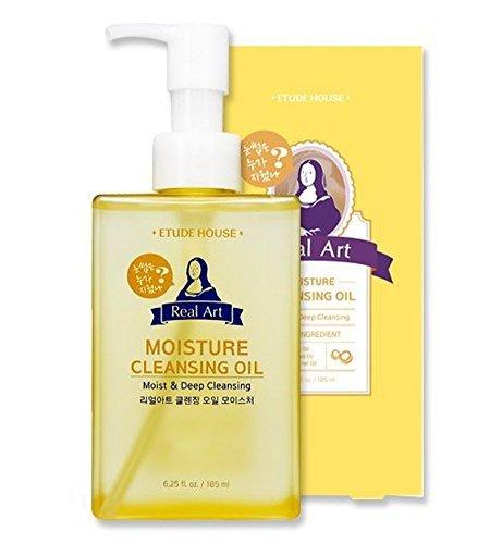 Reinigung Öl (Etude House - Real Art Cleansing Oil - Reinigungsöl Gesicht - Gesichtsreinigung gegen Pickel und Mitesser)