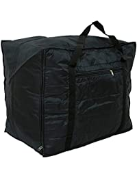 Kuber Industries™ Jumbo Attachi Bag in Soft Parachute Material, Blanket Cum Suitcase Bag, Storage Bag