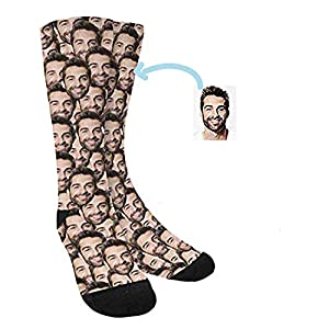 Calcetines Personalizados Con Cara -