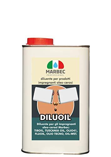 Marbec - diluoil 1lt   diluente per prodotti impregnanti oleo-cerosi