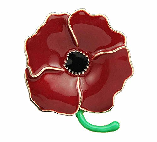 korpikusr-qualitat-rot-emaille-poppy-brosche-in-frei-organza-geschenk-tasche
