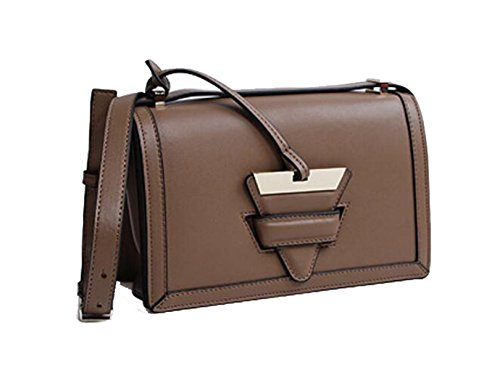 Ms. Messenger Bag In Pelle Coffee
