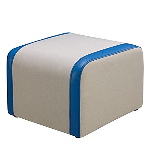 ZHANGRONG- Fabric Sofa For The Stool Low Stool Sofa Stool European Stitching Simple Stool Tea Table To Sit Pier Sofa Stool (Color Optional) --Storage stool ( Color : #5