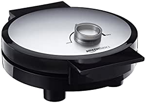 AmazonBasics - Macchina per waffle, 1000 Watt, con piastre antiaderenti