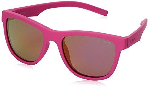 Polaroid Unisex-Kinder PLD 8018/S AI CYQ Sonnenbrille, Dark Pink Grey Speckled Pz, 47