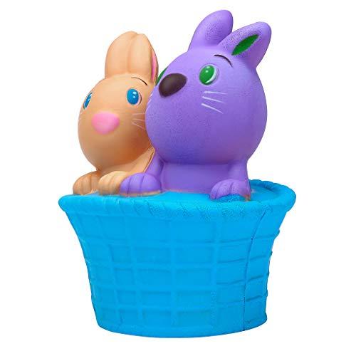 Auied Lernspielzeug Kawaii Squishies Happy Easter Bunny Scented Langsam Steigende Squeeze Sammle Ostern Dekompressionsspielzeug