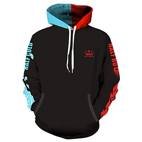 VNIUBI Jacken, My Hero Academy, Cosplay Sweatshirts, Jungen-Mädchen,5,XL