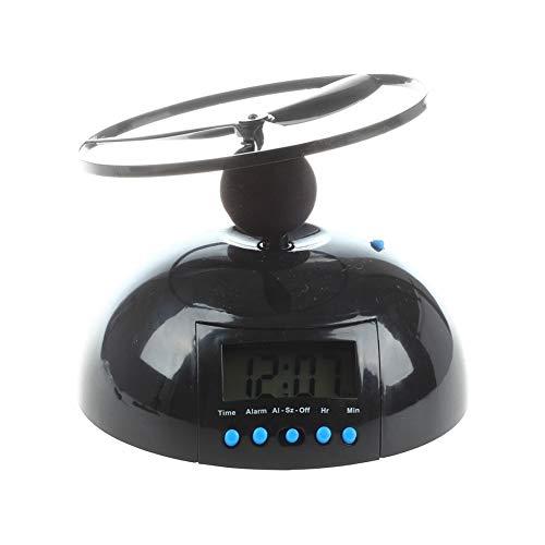 LPKGYHUS Reloj Despertador Despertador De Helicóptero