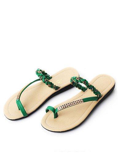 0640541e802cfa ... ShangYi Sandaletten für Damen Damenschuhe - Halbschuhe - Lässig -  Kunststoff   Kunstleder - Flacher Absatz ...