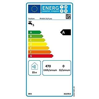 Vaillant VED E 21/7 B elektrischer Durchlauferhitzer weiß