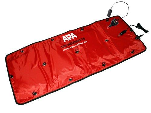 Preisvergleich Produktbild APA - 16503 - EAL Frontscheibenheizung Enteisung-Heizpad 12V mit Zeitschaltuhr, Eis-Frei Matte