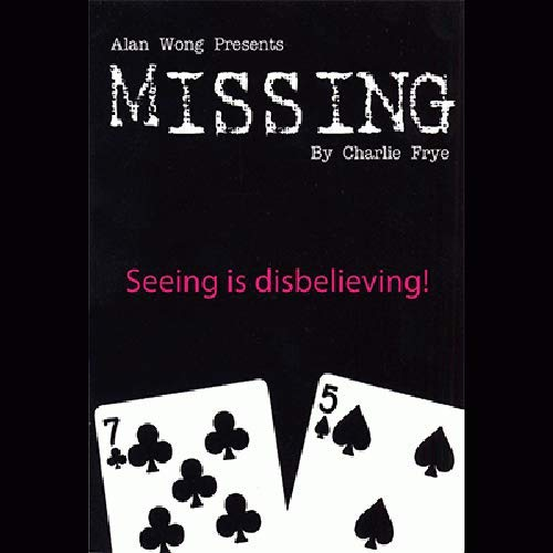 SOLOMAGIA Missing by Charlie Frye and Alan Wong - Tricks with Cards - Trucos Magia y la Magia