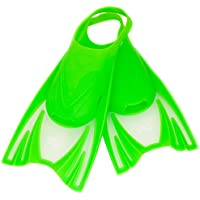 Aqua Speed Frog Aletas Cortas para Niños | Unisex | Niñas | Niños | Aletas de Entrenamiento | Entrenamiento de Natación | Aletas Cortas | Aletas de Buceo, Color Grün, Tamaño:25-29 (S)