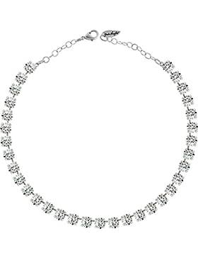 Klassik Collier Medium, mit 9mm Swarovski-Kristall